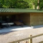Bespoke wooden structure